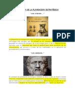 Evolucion_histórica de La Planeación
