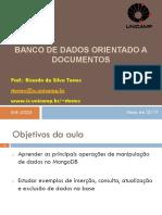 A2 - BDs Orientado Documentos