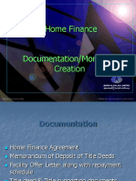 Creation of Mortgage