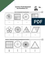 Les fractions cm1