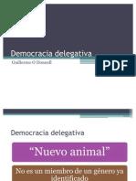 Democracia Delegativa O' Donnell