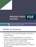 Mudanca, Inovacao e Cultura
