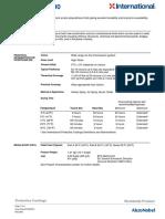 Paint Technical Data Sheet