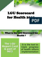 LGU Scorecard