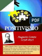 Exposicion Positivismo