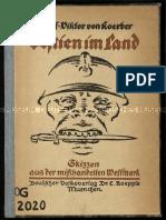Koerber, Adolf Viktor von - Bestien im Land - Skizzen aus der mißhandelten Westmark (1923)