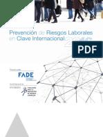 Prevención de Riesgos Laborales en Clave Internacional 2016.