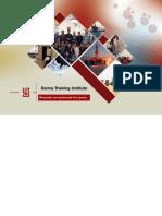 Dalma Training Institute Catalog 2014