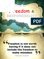 10. Freedom and Responsibility