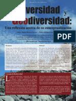 Geodiversidad y Biodiversidad