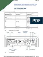 FCOB Interface &Description
