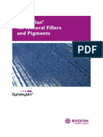 Dynasylan for Mineral Fillers and Pigments En