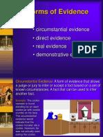 evidence.ppt