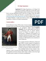 El Código Napoleónico