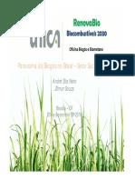 UNICA,2016 - Panorama Do Biogás No Brasil
