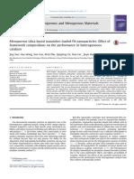 Mesoporous Silica-based Nanotubes Loaded Pd Nanoparticles