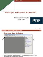 introdução ao microsoft acess 2003