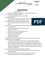 CUESTIONARIO N°3