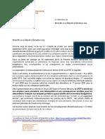 Assurance chômage, le droit d'alerte de la CFDT aux parlementaires