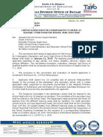 Division Memorandum No. 16 s. 2019