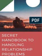 Secret Handbook of Handling Relationship Problems