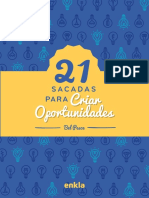 21 Sacadas para Criar Oportunidades