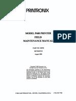 Printronix_P600_Maint_Aug82