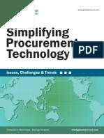 Simplifying Procurement Technology