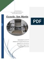 Informe de La Escuela San Martin. Esparza- Pereyra