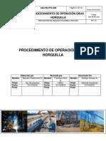 SSO.pr.PTS.004 Procedimiento de Operación Grúa Horquilla
