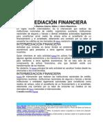 INTERMEDIACIÓN FINANCIERA