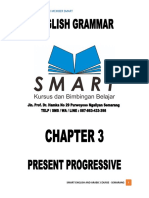 Chapter 3 - Present Progressive
