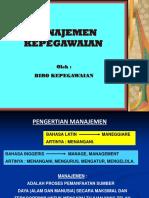 162132966-Manajemen-Kepegawaian-Iwan-Maryono.ppt