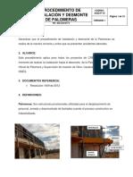 Asig-p-10 Procedimiento de Palomeras