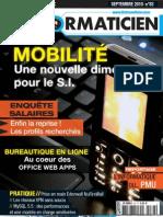 2010 09 L'Informaticien No 83