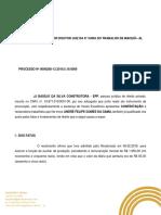 Contestação Trabalhista - André Felipe