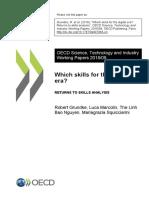 What Skills for the Digital Era - Returns to Skills Analysis (Grundke y Cols, 2018) Oecd Piaac