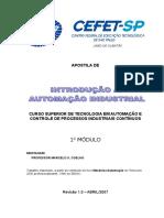 Apostila de Curso Superior de Tecnologia Em Automação e Controle de Processos Industriais Contínuos. 1 o Módulo