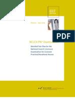 2005 NCLEX PN Detailed Test Plan