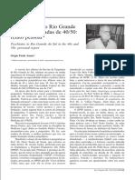A psiquiatria no Rio Grande do Sul nas décadas de 40/50