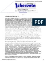 Lacan y Levi-Strauss. La Causalidad Estructural_ Senderos Que Se Bifurcan - Fernando Ramírez - Acheronta 30 (Abril 2018)