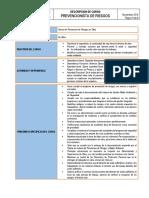 Descripcion Cargo Prevencionista.docx