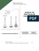 MANUAL DE PRACTICAS FISICOQUIMICA