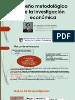 5. Diseño Metodológico Investigación Económica