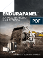 EMAM Baldwin EnduraPanel Advanced Technology in Air Filtration Form 630