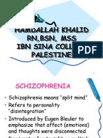 scizophrenia.