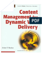Content Management Systems for dynamic web delivery