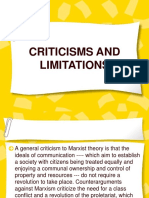 Criticisms and Limitations Elljay.pptx