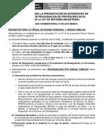 Documentos Reasignacion 2019
