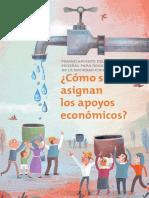 COMO SE ASIGNAN LOS APOYOS ECONOMICOS